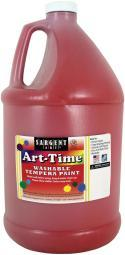 Washable Art-Time(R) Tempera Paint 128oz Red