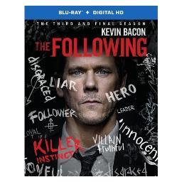 Following-complete 3rd season (blu-ray/3 disc) BR526400