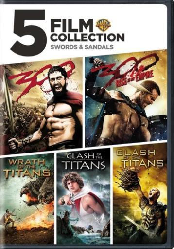 5 film collection-swords & sandals (dvd/3 disc) ZKQMSH5BKTWWEJCX
