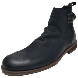 Bar III Mens Nelson Leather Almond Toe Ankle Fashion Boots