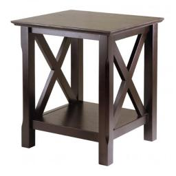 Winsome 40420 Xola End Table - Cappuccino