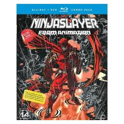 Ninja slayer-complete series (blu ray/dvd combo) (4disc) BRFN01465