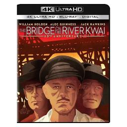 Bridge on river kwai (blu-ray/4k-uhd/ultraviolet) (original version) BR49631