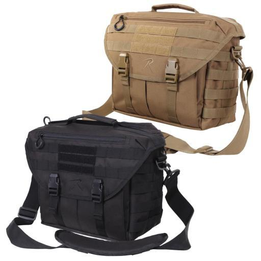 Rothco 3911 MOLLE Covert Dispatch Tactical Shoulder Bag