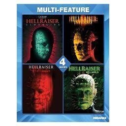 Hellraiser collection 4 film set (blu ray) (ws/eng/eng sdh/5.1 dts-hd) BR46233
