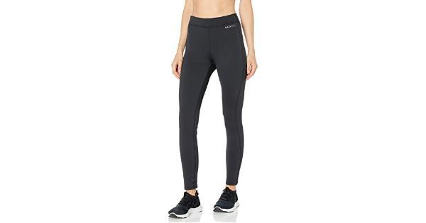 Under Armour Women's Base Leggings 3.0, Black (001)/Pitch, Black, Size Small