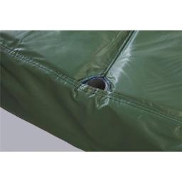Bazoongi PAD14JP6-10G 14 ft. Green Safety Pad For 6 Poles, 10 in. Wide