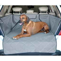 K&H Pet Products 7867 Gray K&H Pet Products Quilted Cargo Cover Gray 52 X 40 X 18