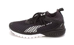 PUMA Womens ignite dual netfit Low Top Lace Up Running Sneaker, Black, Size 9.5