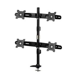 Amer Networks AMR4P 24 in. Quad Monitor Pole & Grommet Mount