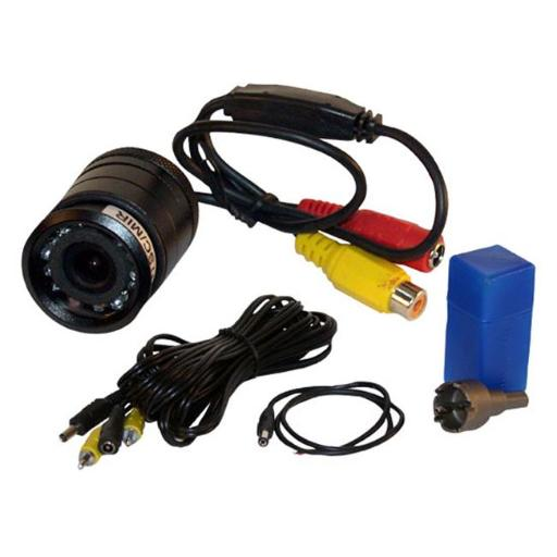 Pyle PLCM22IR Flush Mount Rear View Camera with 0 Lux Night Vision