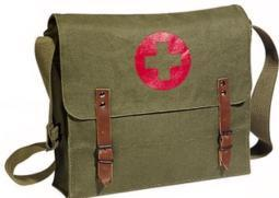 NATO Canvas Medic Bag - Available in Various Colors