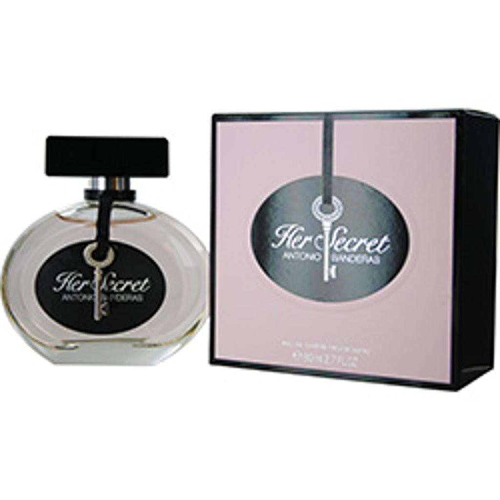 HER SECRET by Antonio Banderas EDT SPRAY 2.7 OZ (Package Of 6)
