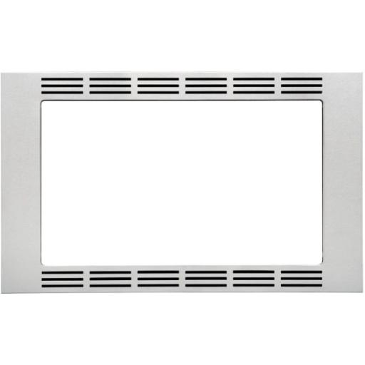 PANASONIC CONSUMER NN-TK621SS 27 SS Trim Kit 1.2cuft Microw .Appliance Accessory Type: Trim Kit.Color: Stainless Steel.Material: Stainless Steel.Height: 16.5.Width: 26.9 .Depth: 0.8 .
