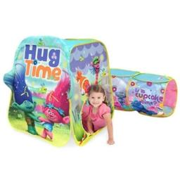 DDI 2273920 Trolls Discovery Play Tent with Tunnel Case of 4