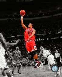 Derrick Rose - 2009 Spotlight Collection Photo Print PFSAALG12301
