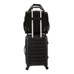 Rockland BF31-CHARCOAL 9 x 14 x 15 in. Melrose Wheeled Underseat Carry-On  Charcoal