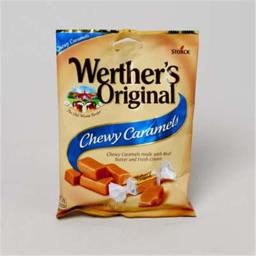 Regent Products 37210 Werthers Original Chewy Caramel, 2.4 oz. - Pack of 12