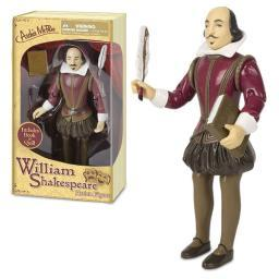 William Shakespeare Action Figure Author Bard English Literature Funny Gift