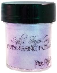 Lindy's Stamp Gang 2-Tone Embossing Powder .5oz-Pop Rock Purple LSG-EP-82