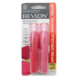Revlon Revlon Kiss Balm 025 Fresh Strawberry + 030 Sweet Cherry (each .09 Oz.)