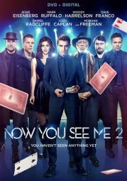 Now you see me 2 (dvd w/digital) (ws/eng/eng sub/span sub/5.1 dol dig) D50297D