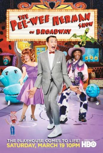 The Pee-Wee Herman Show on Broadway Movie Poster Print (27 x 40) FF0ESJYSACKQWZPI