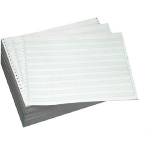 Domtar Paper 141108 14.90 in. Computer Paper, 3000 Sheets, Green