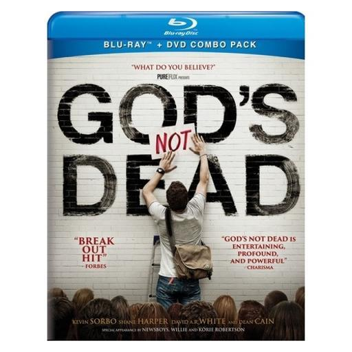 Gods not dead (blu-ray/dvd/combo pack/2014/sorbo/cain/w robertson) 1289258