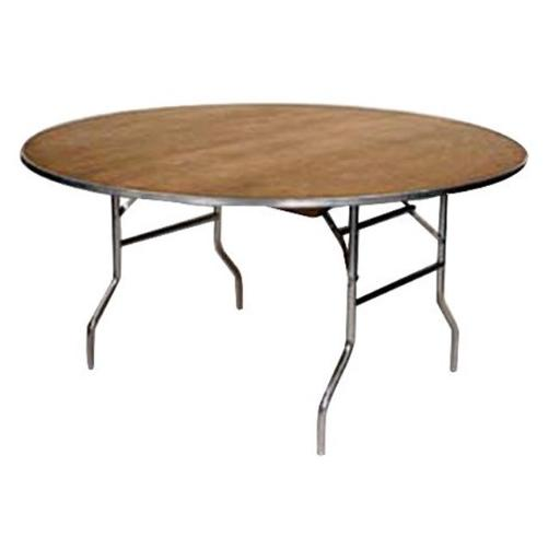 Maywood Furniture MP72RD 72 in. Dia. Standard Series Plywood Round Folding Table