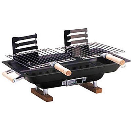 Kay Home Products 30002 10 x 17 in. Steel Hibachi Grill