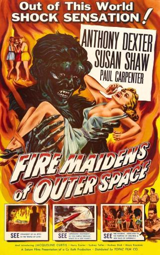 Fire Maidens Of Outer Space 1956. Movie Poster Masterprint NP7C2IDQL3N9RYMJ