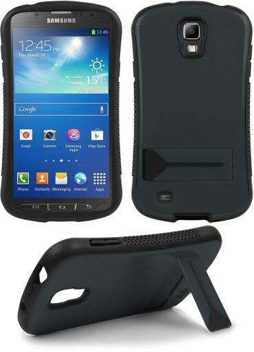 GRAY SEXY SLIM CURVED CASE SKIN COVER STAND FOR SAMSUNG GALAXY S4 ACTIVE i537 HYJFFLESXRHDDE0F