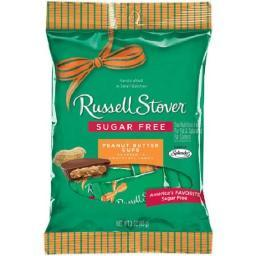 Russell Stover Chocolate Sugar Free Peanut Butter Cups