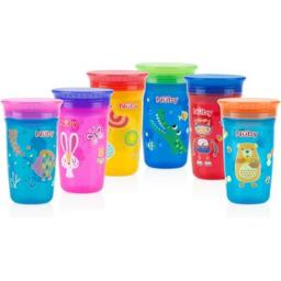 DDI 2276636 Nuby? No-Spill 360 Printed Wonder Cup, 2-Pack Case of 12