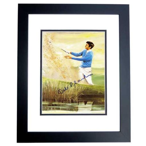 Real Deal Memorabilia BCharles8x10-3BF Bob Charles Signed - Autographed Golf Legend 8 x 10 in. Photo - Custom Black Frame - Guaranteed to Pass PSA or