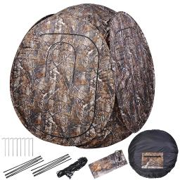 60x60x68″ Pro Hunting Blind Tent 300D Polyester Fibre w/ Carrying Case Outdoor Sport View