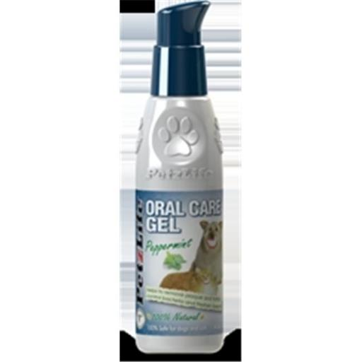 PetzLife 000460 Complete Oral Care Peppermint Gel, 4 Oz