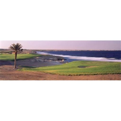Panoramic Images PPI128058L Golf course at dusk The Cascades Golf And Country Club Soma Bay Hurghada Egypt Poster Print by Panoramic Images - 36 x