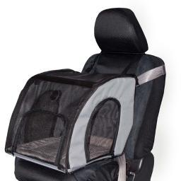 K&H Pet Products 7670 Gray K&H Pet Products Pet Travel Safety Carrier Medium Gray 24 X 19 X 17