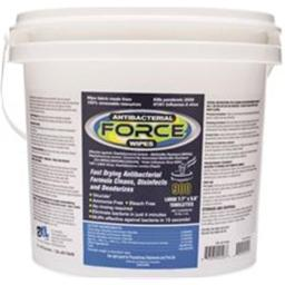 2XL 2487234 Care Wipes & Gym Wipe Antibacterial Force Bucket, 900 Sheets
