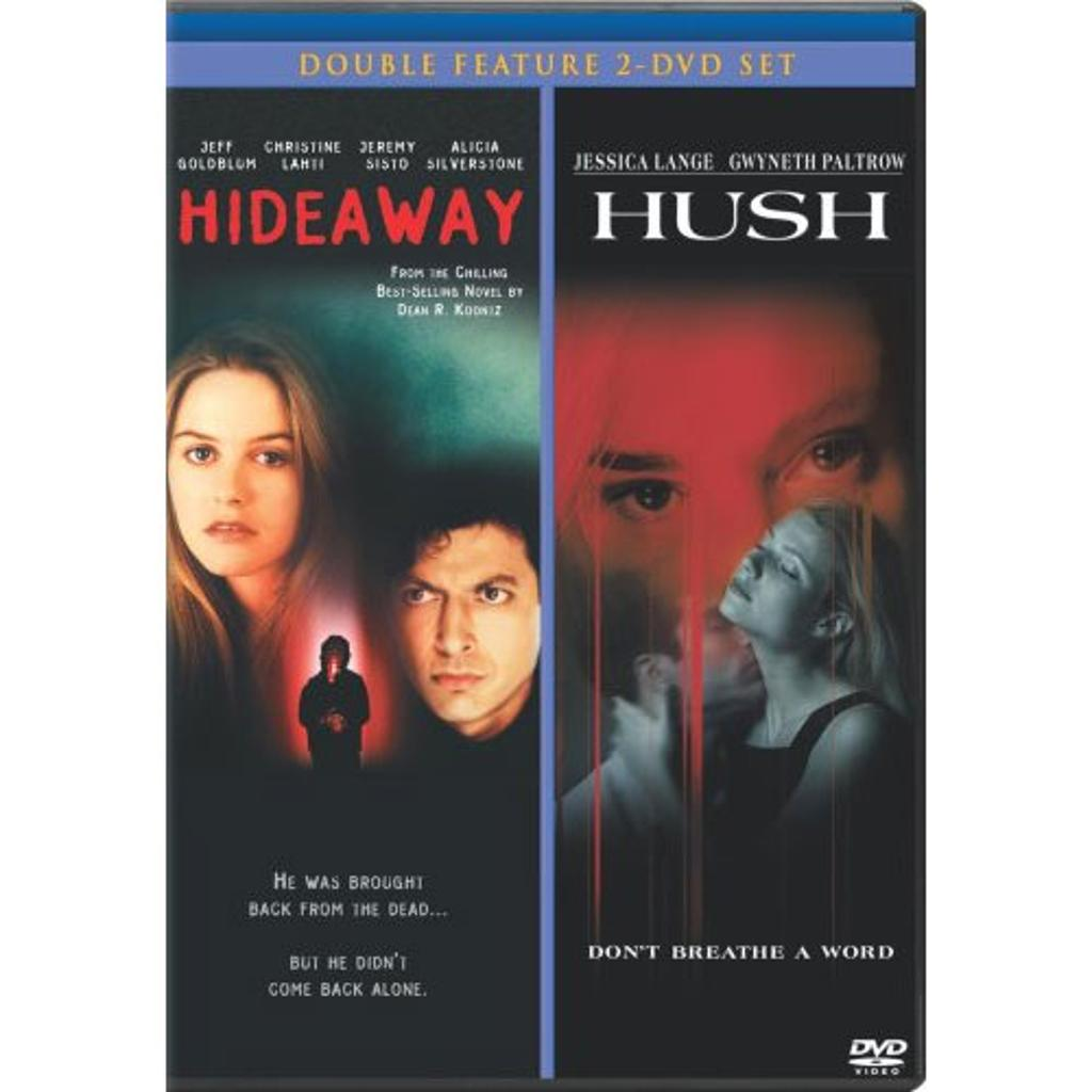 HIDEAWAY / HUSH (DOUBLE FEATURE) (2-DISC) / DVD