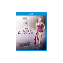 HOW TO MARRY A MILLIONAIRE (BLU-RAY/WS-2.55/ENG-FR-SP SUB) 24543817109