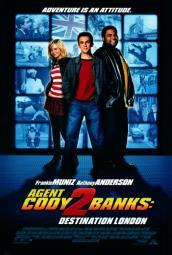 Agent Cody Banks 2: Destination London Movie Poster Print (27 x 40) MOVAH5662