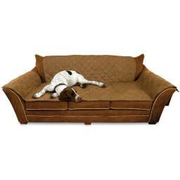 K&H Pet Products 7821 Mocha K&H Pet Products Furniture Cover Couch Mocha 26 X 70 Seat, 42 X 88 Back, 22 X 26 Sid