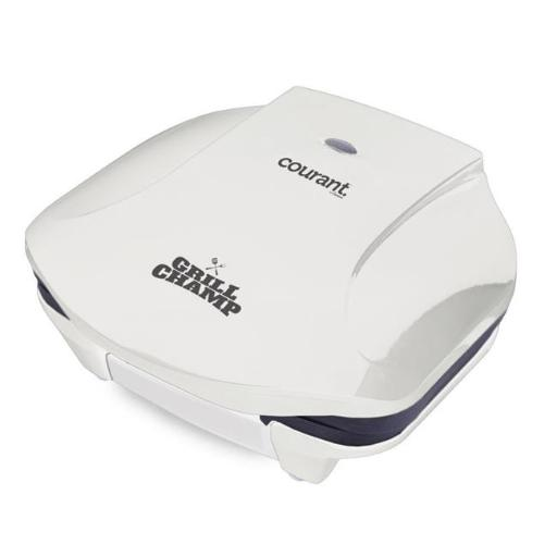 Courant CCG-2871W 2-Serving Contact Grill, White
