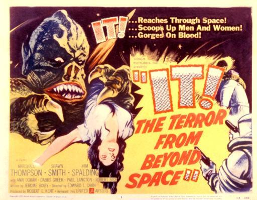 It! The Terror From Beyond Space 1958 Movie Poster Masterprint UZFJCFNCQAYOTGZO