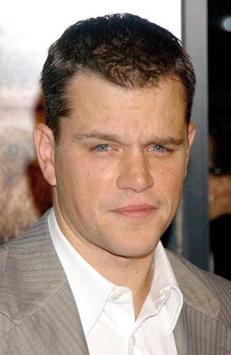 Matt Damon At Arrivals For The Departed Premiere, Ziegfeld Theatre, New York, Ny, September 26, 2006. Photo By Kristin CallahanEverett Collection.