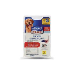 Adams plus 100537680 adams plus flea and tick spot on dog extra large 3 month su