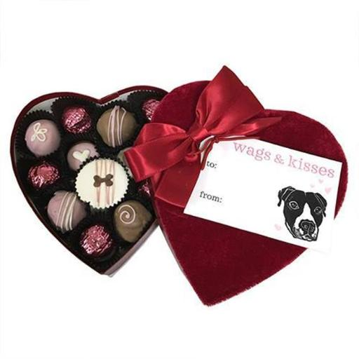 Bubba Rose Biscuit dlheart Velvet Heart Box IRGXRY0KQING29GP